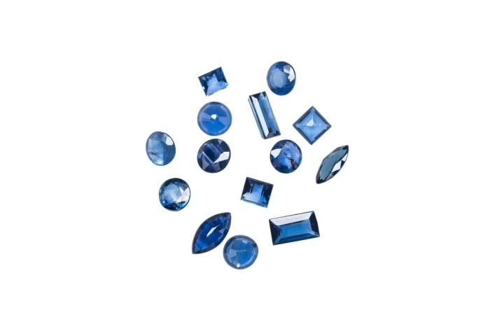 Zestaw Kamieni Deep Blue