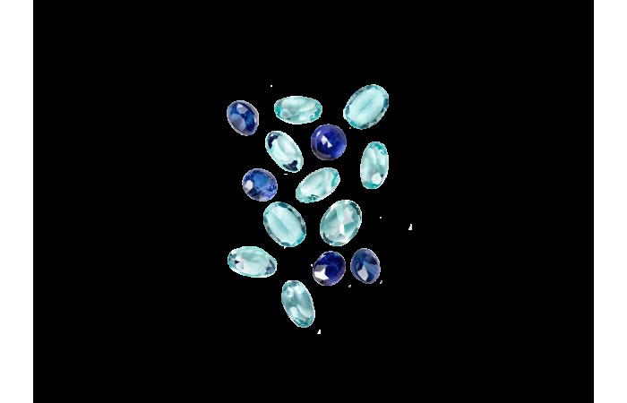 Zestaw Kamieni Cobalt Blue