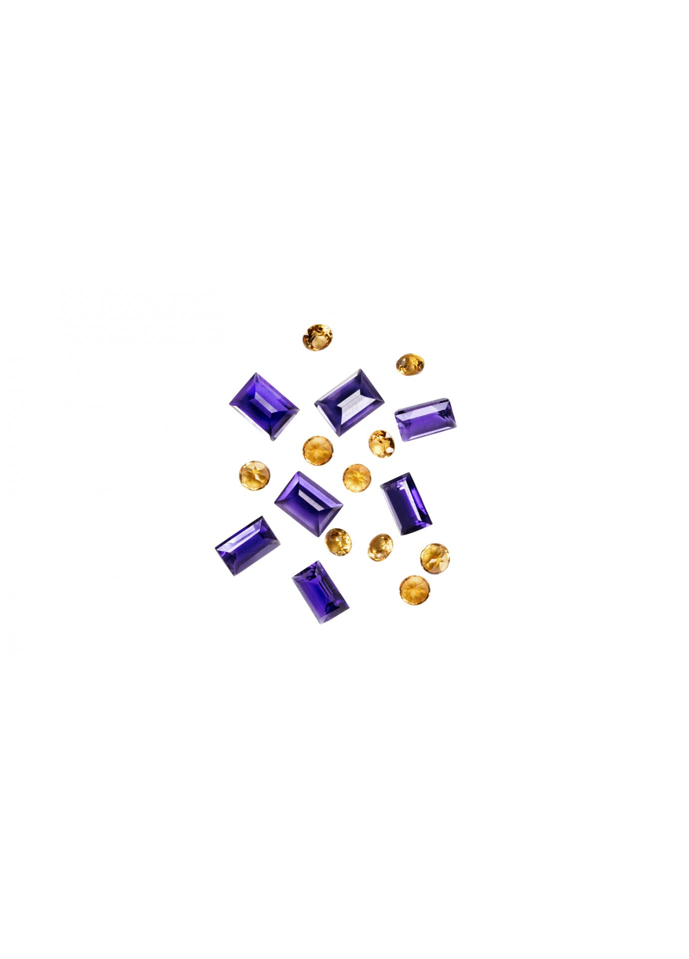 Zestaw Kamieni Violet