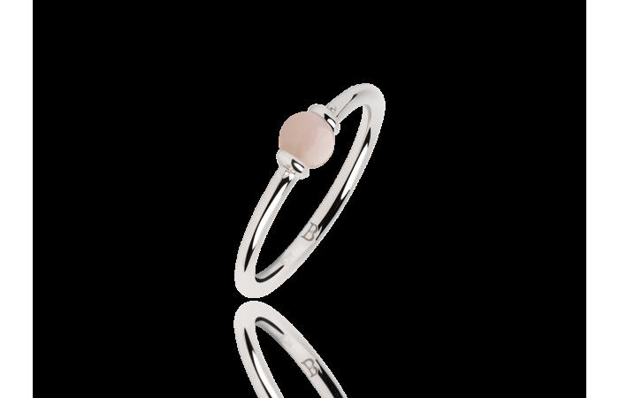 Pierścionek Pink Opal Pea