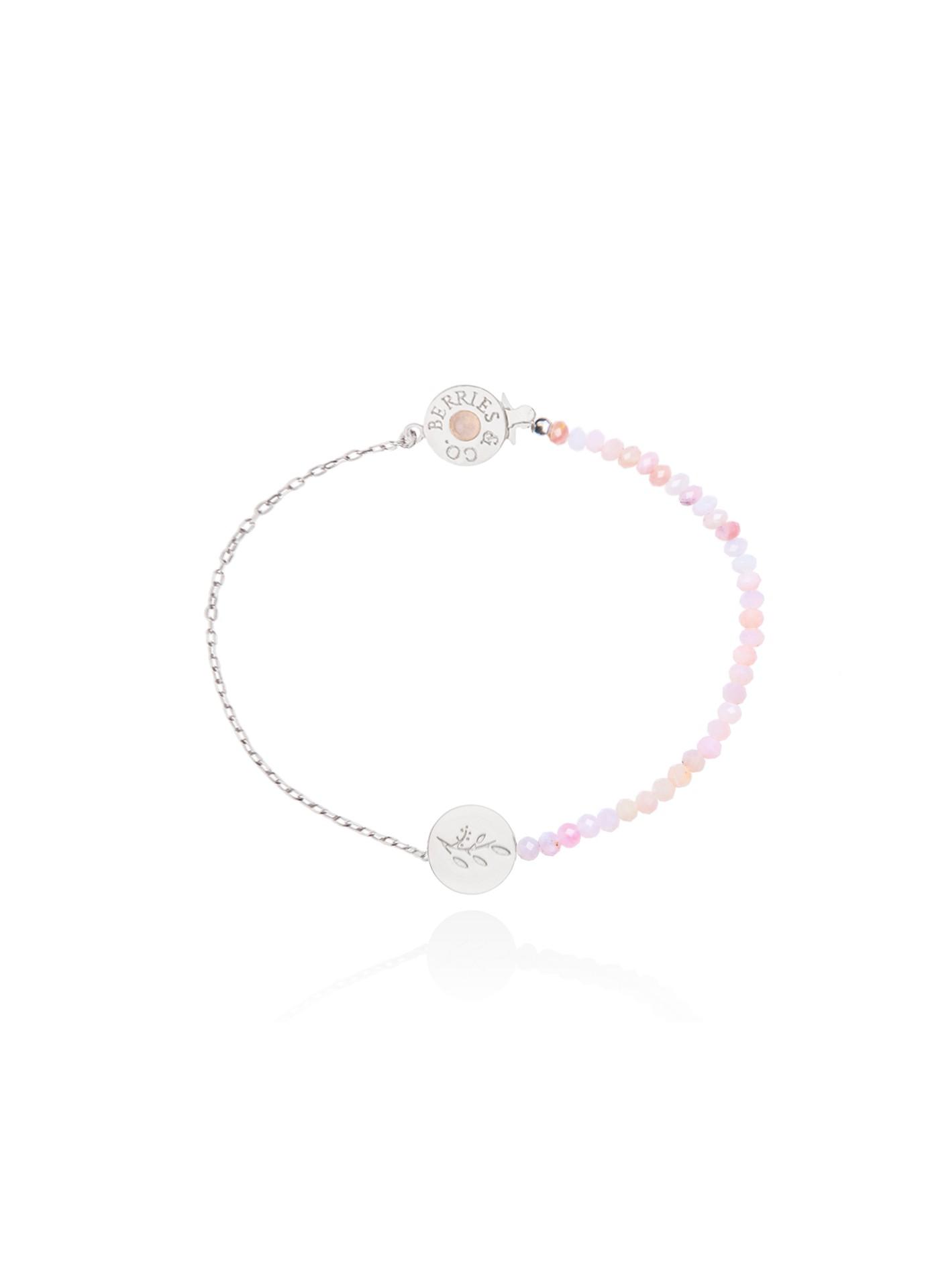 Bransoletka Pink Opal Bloom