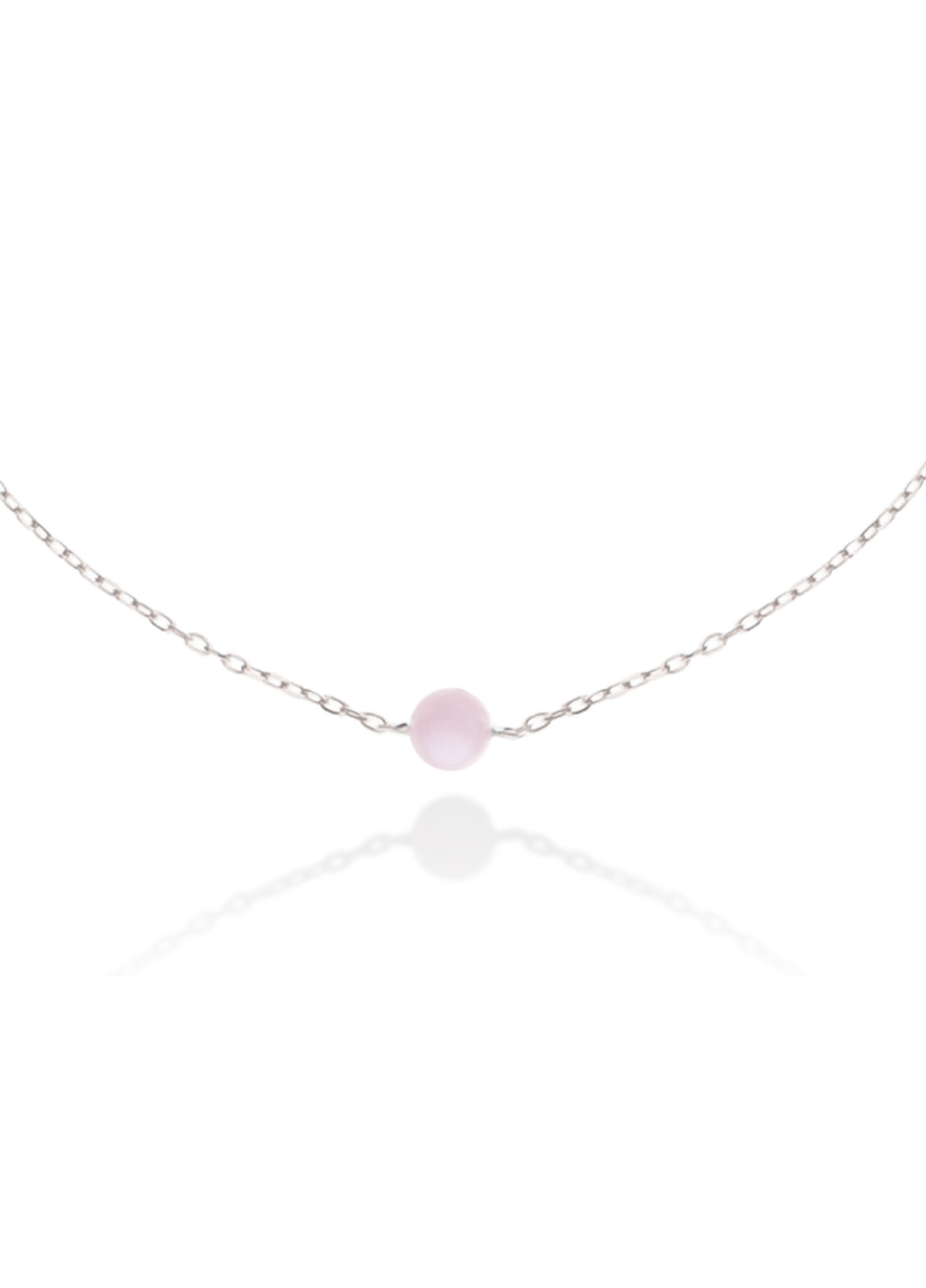Naszyjnik Pink Opal Pea